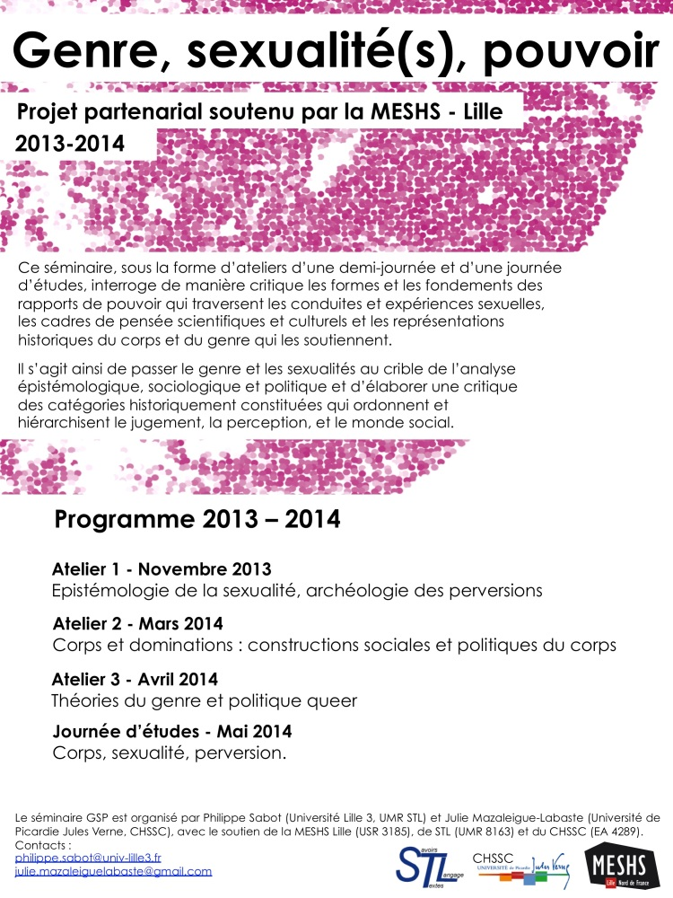 GSP programme 2013-14