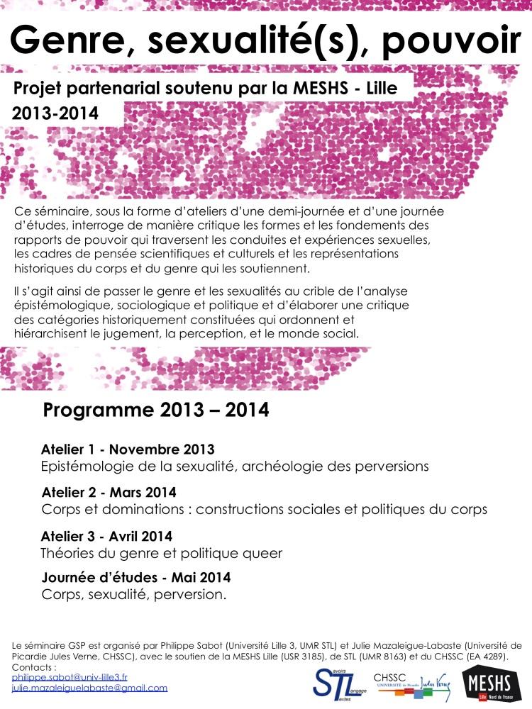 GSP programme 2013-14